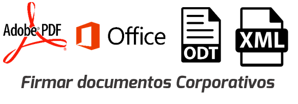 Nuestra firma puede utilizarse en diferentes formatos de documentos como Office, PDF, XML, Open Document y Text Document, sin cambiar su naturaleza.