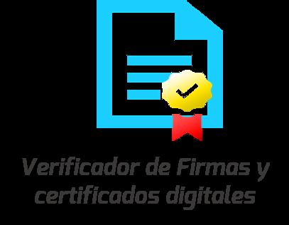 Netco Signer puede verificar en línea las firmas en documentos electrónicos.