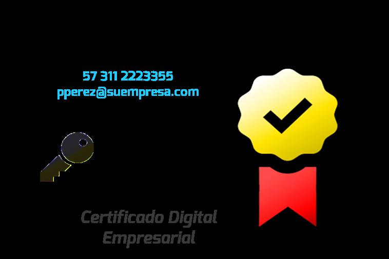 Certificado Empresarial