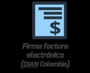 Firma Factura Electrónica
